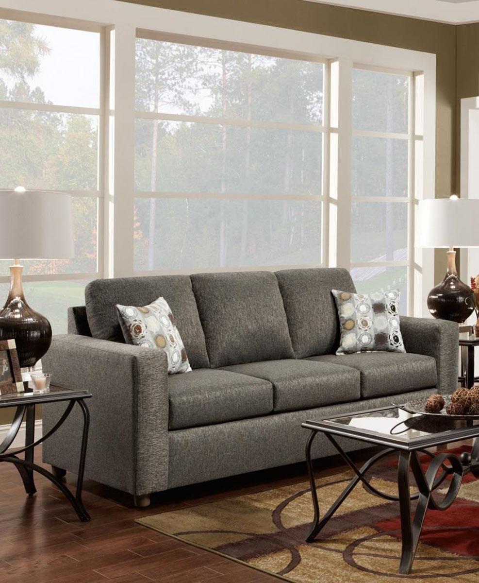 Chelsea Home Talbot Sofa - Vivid Onyx