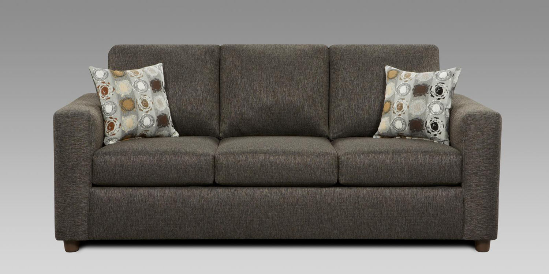 Chelsea Home Talbot Queen Sleeper Sofa - Vivid Onyx