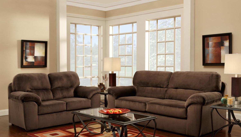 Chelsea Home Furniture Balitmore Sofa Set - Cumulus Beluga 194802-CB-Sofa-Set