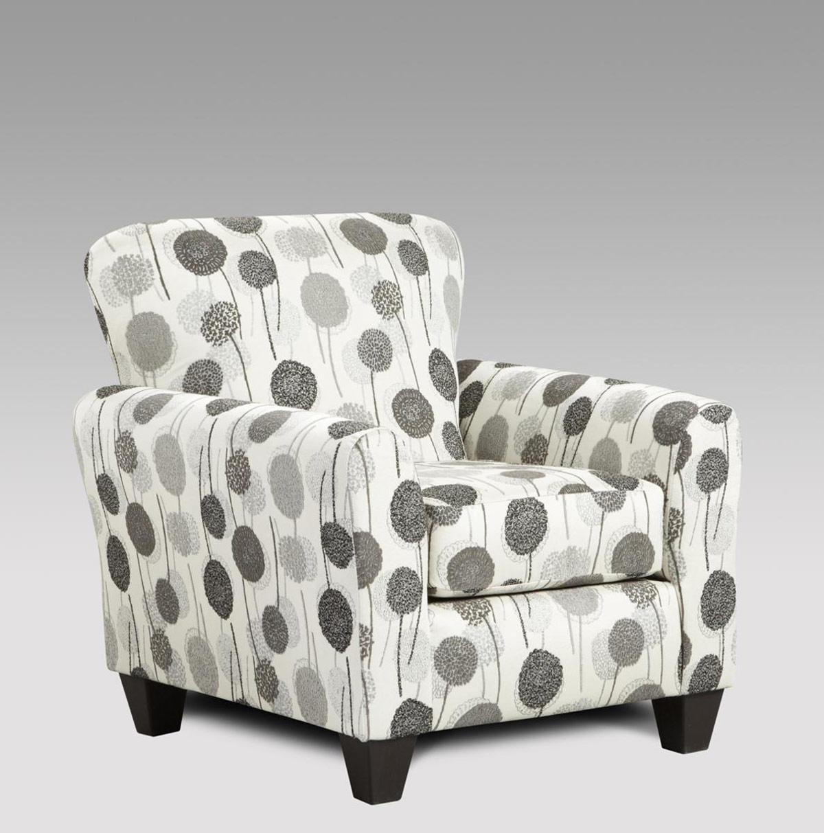 Chelsea Home Worcester Accent Chair - Wonderland Ash