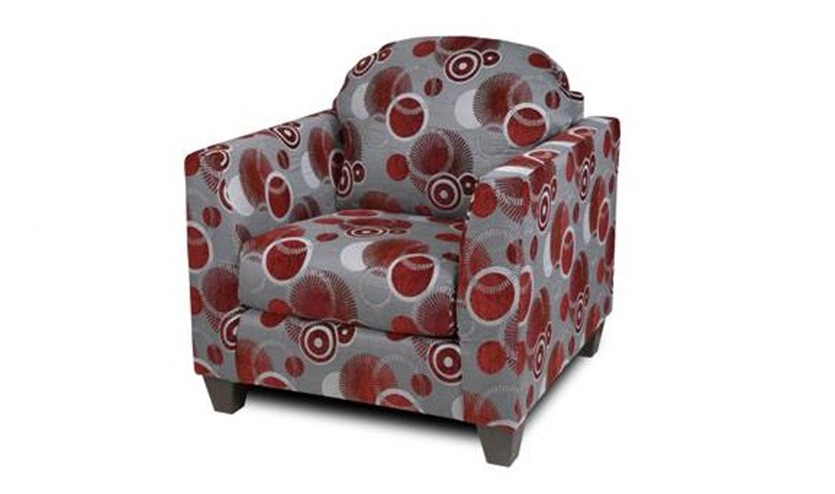 Chelsea Home Furniture Suzzy Chair - Celeste Ruby 200-CH-CR
