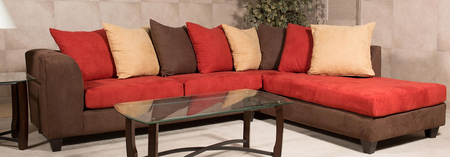 Chelsea Home Marshfield Sectional Sofa Crimsin Chf 213130 78 Sec Bc At