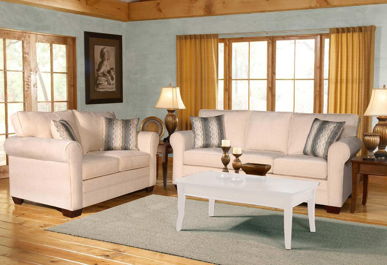 Chelsea Home Vicki Sofa Set - Sagittarius Pearl