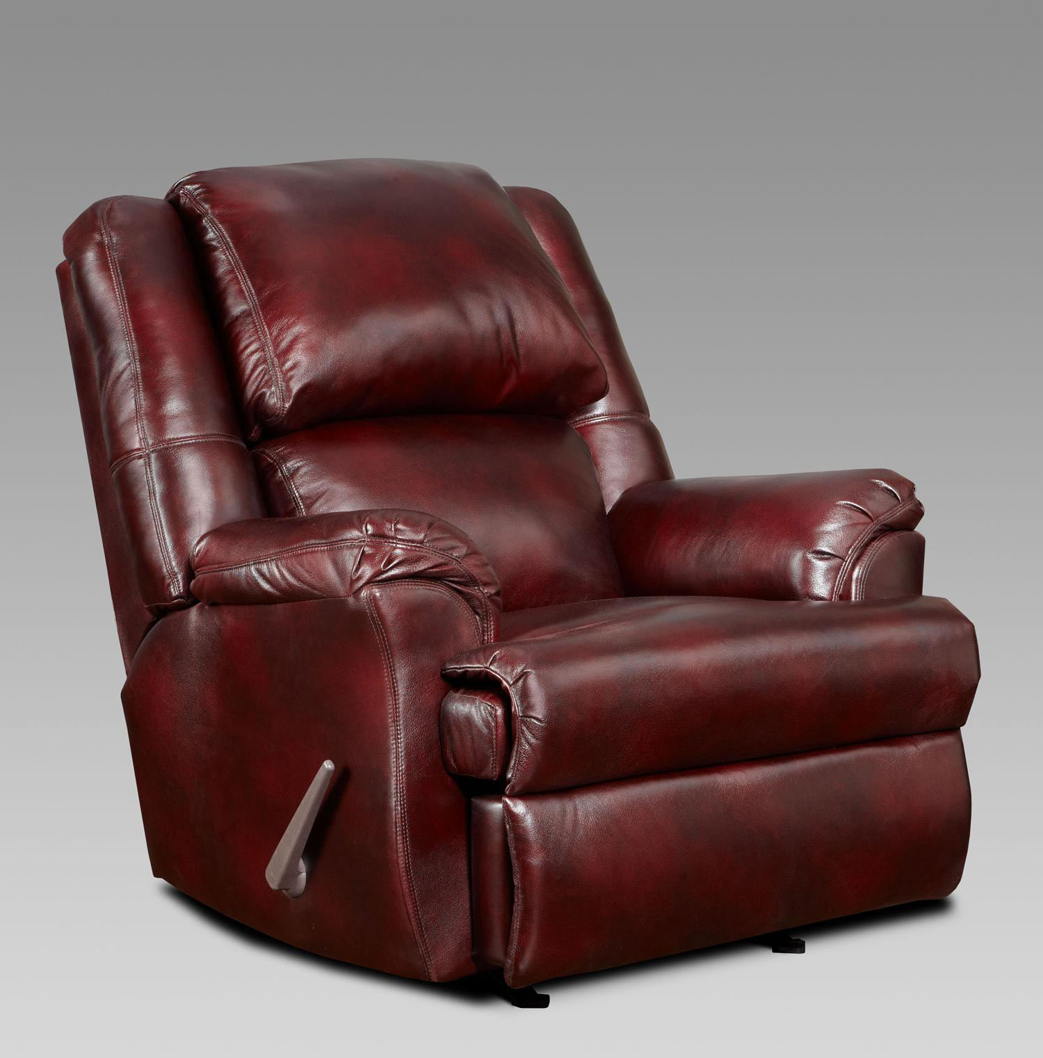 Chelsea home furniture chaise rocker recliner mesa bordeaux for Chaise x rocker