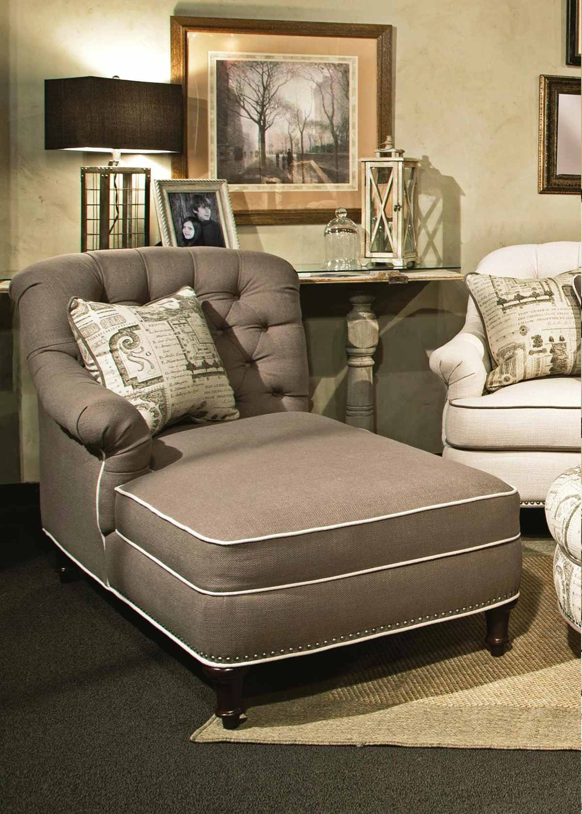 chelsea home anastacia chaise lindy chinchilla