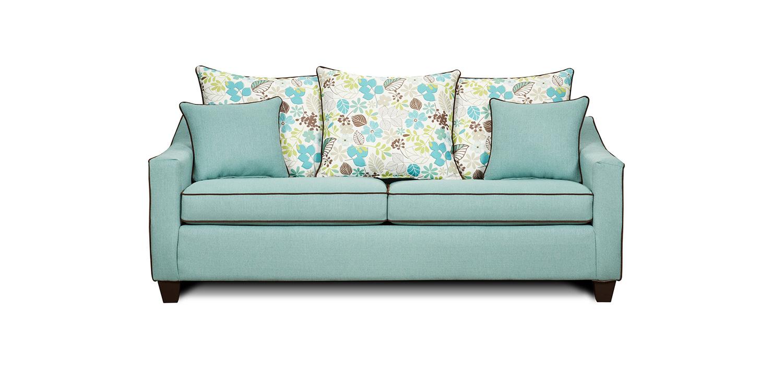 Chelsea Home Bristol Sofa - Blue