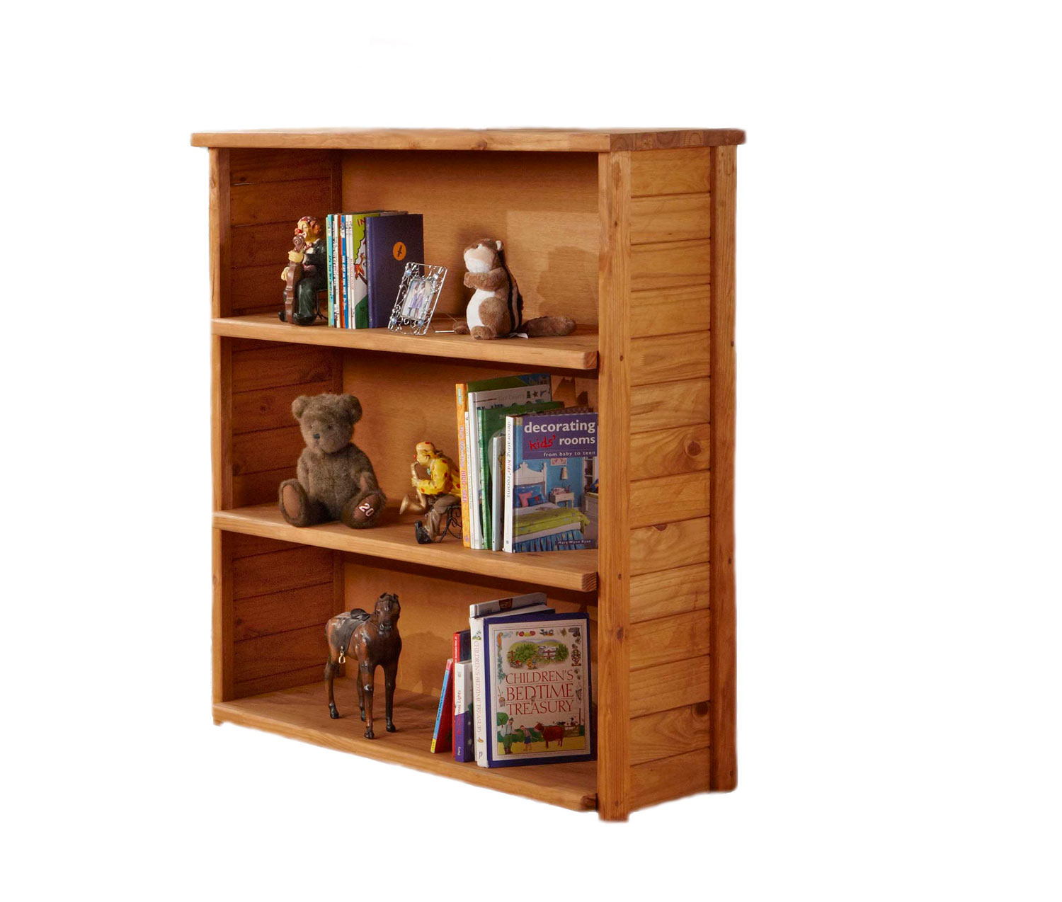 Chelsea Home 31309 Open Bookcase - Ginger Stain