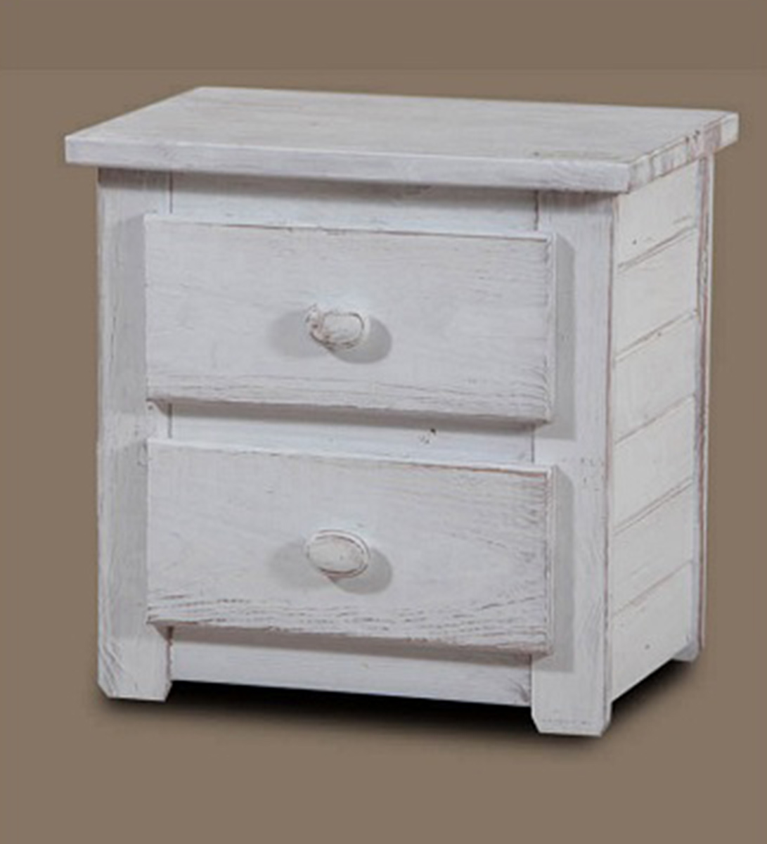 Chelsea Home Night Stand - White Distressed