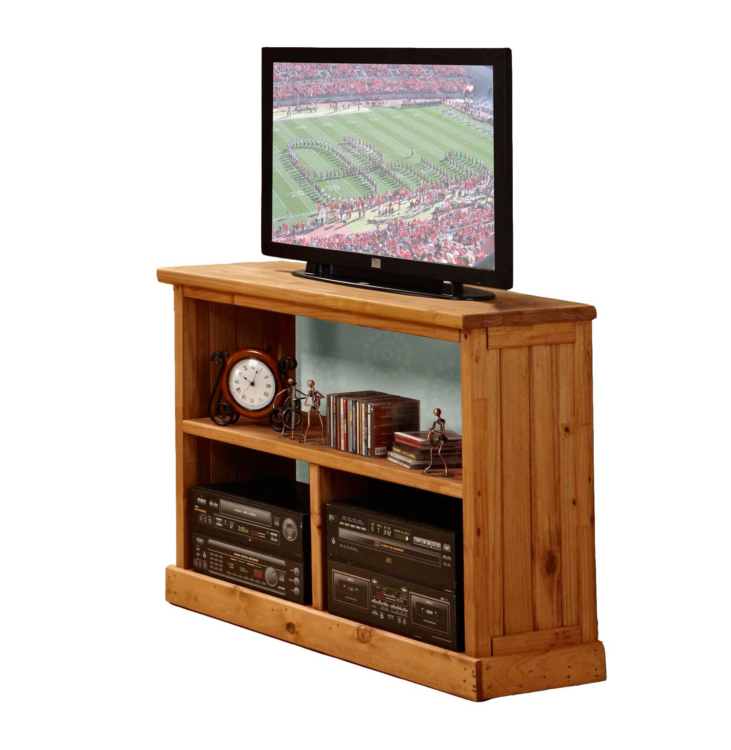 Chelsea Home 31700 TV Stand - Ginger Stain