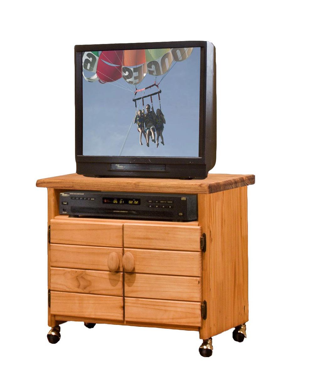 Chelsea Home 31710 TV Cart - Ginger Stain