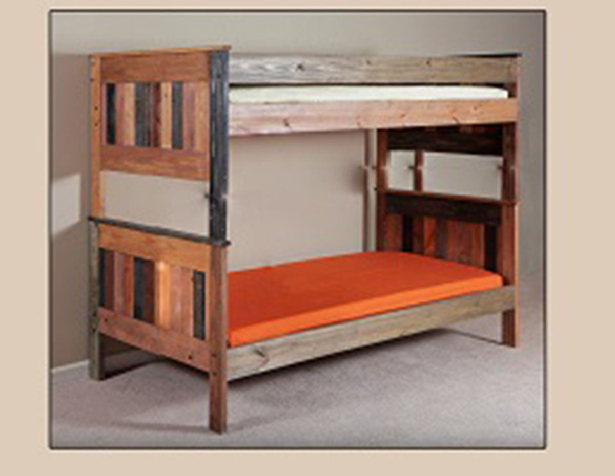 Chelsea Home Full/Full Stackable Bunk Bed - Multi-Color