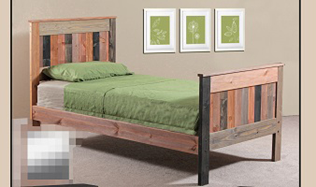 Chelsea Home Twin Mates Bed - Multi-Colored