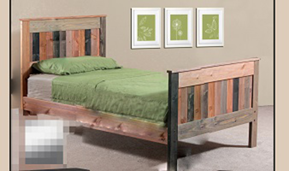 Chelsea Home Full Mates Bed - Multi-Colored