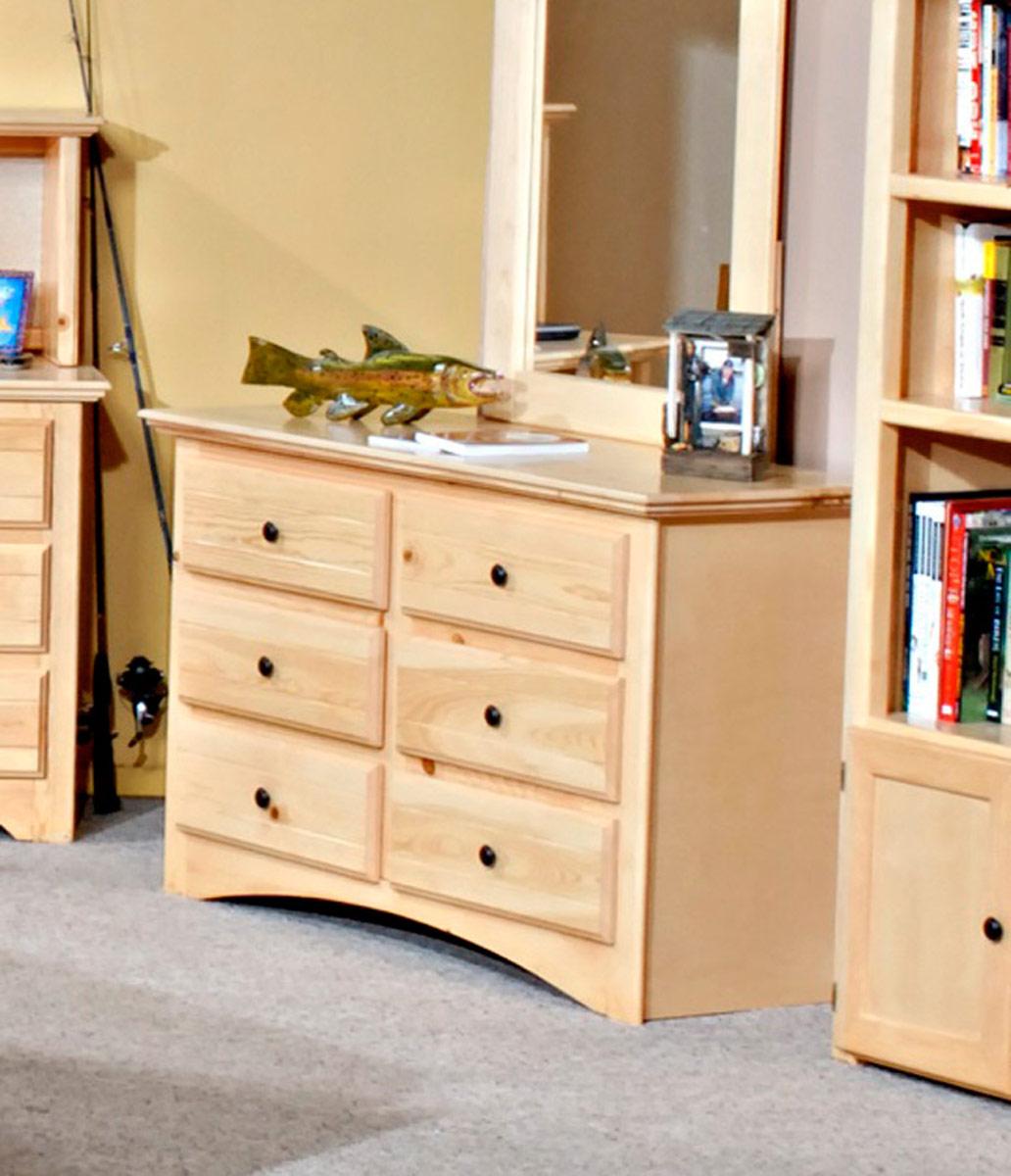 Chelsea Home 3524470 6 Drawer Dresser - Desert Sand