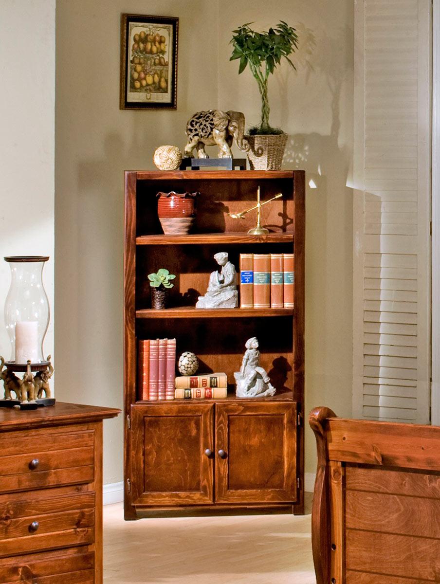Chelsea Home 3524485-C Bookcase - Cocoa