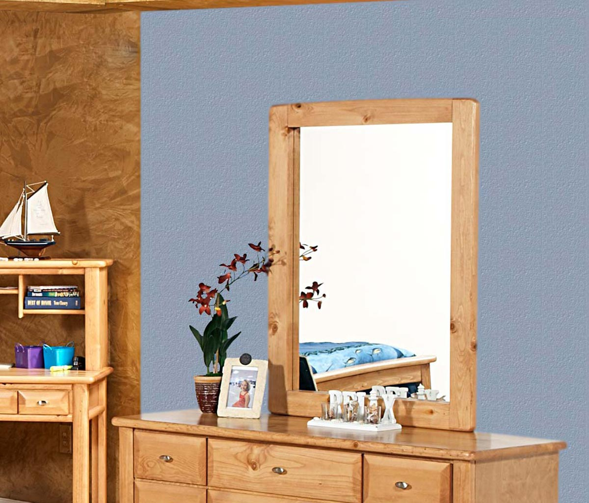 Chelsea Home 3534536-C Mirror - Caramel