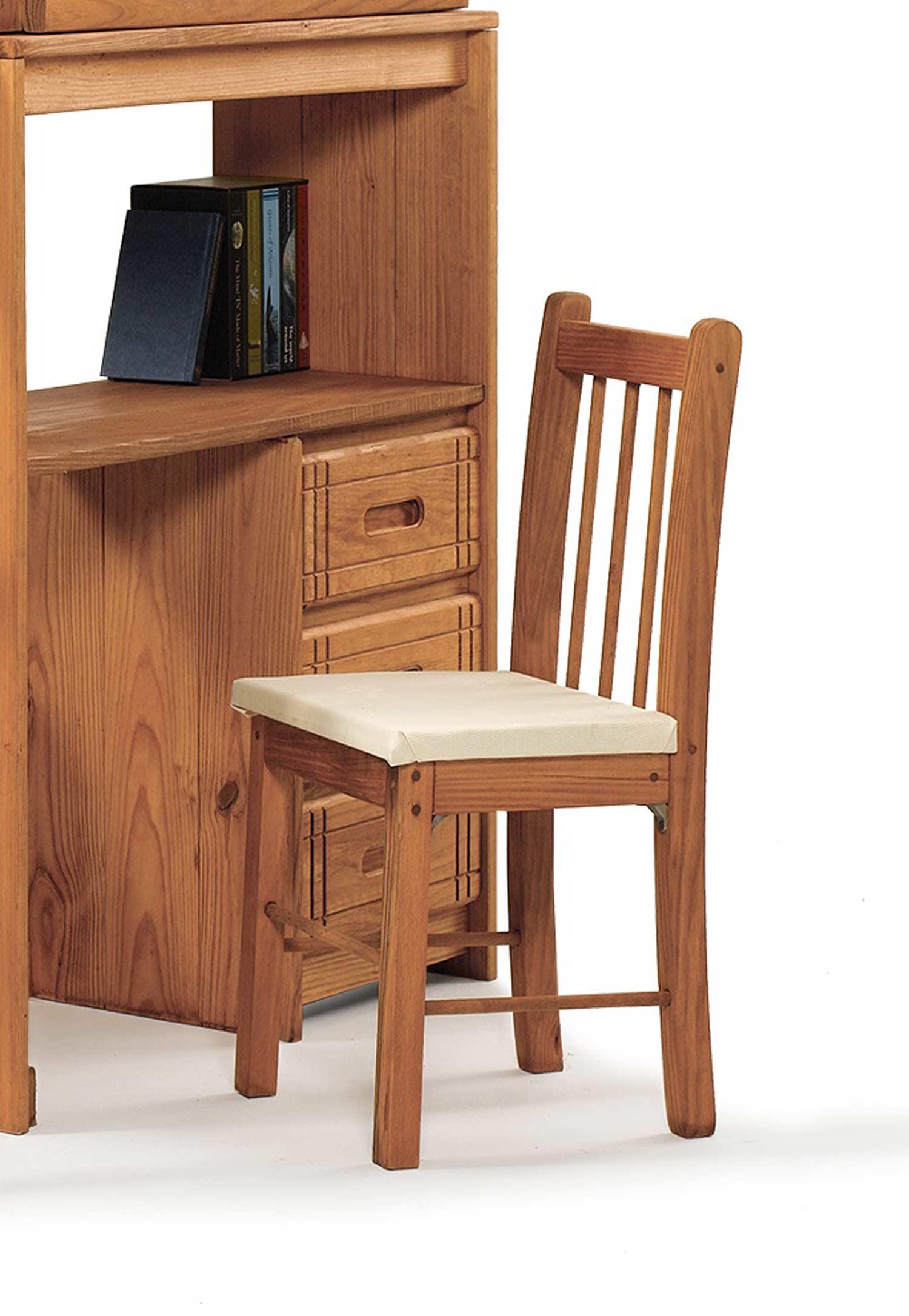 Chelsea Home 3611007 Desk Chair - Honey