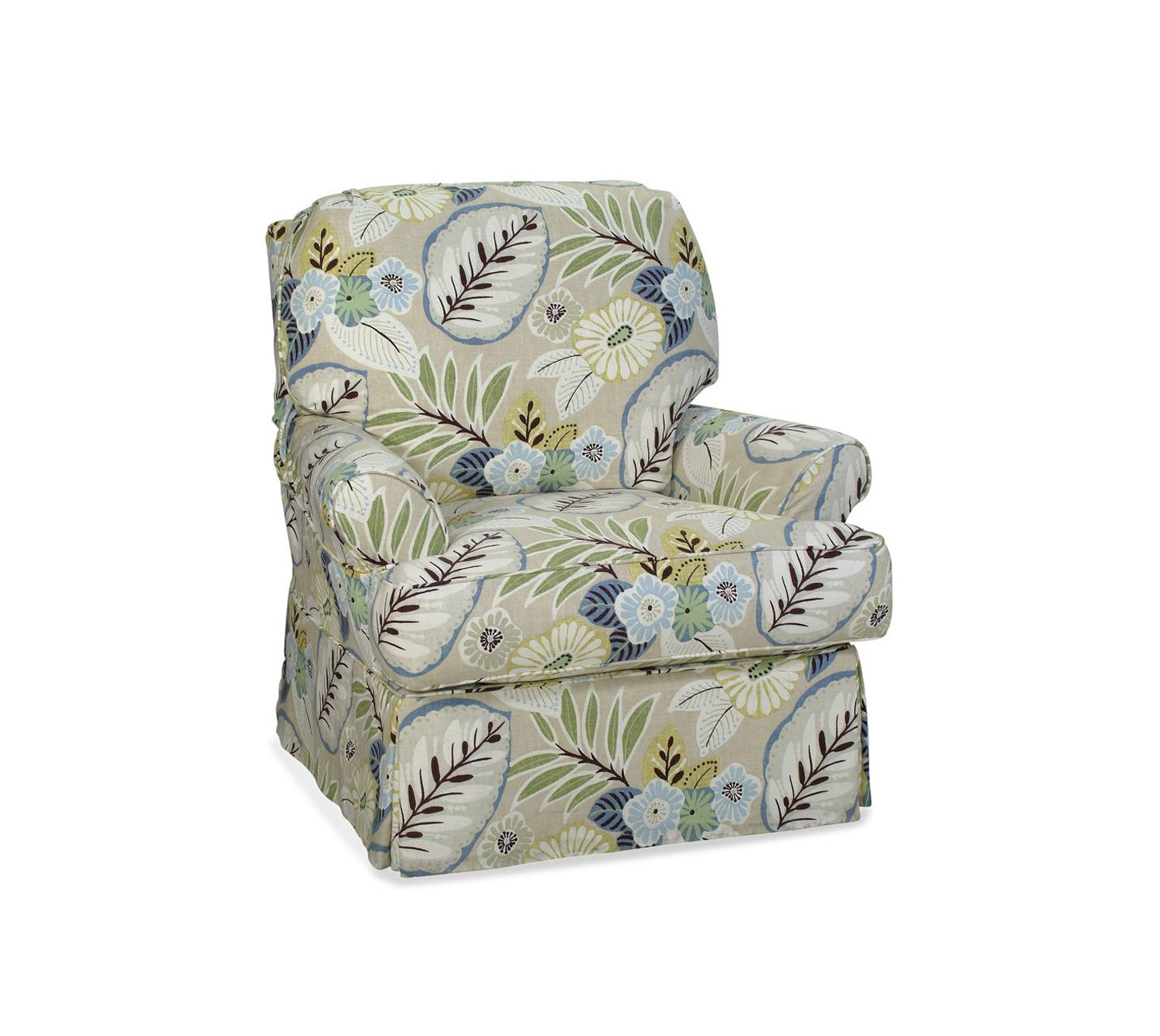 Chelsea Home Sydney Accent Glider - Tracey Beachcomber
