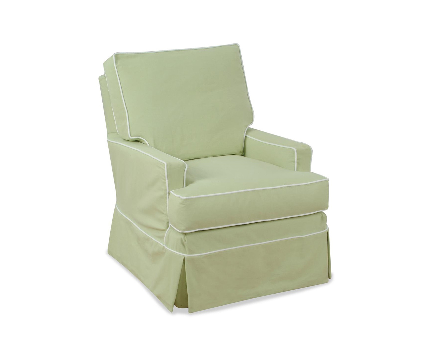 Chelsea Home Camila Accent Glider - Topsider Celadon