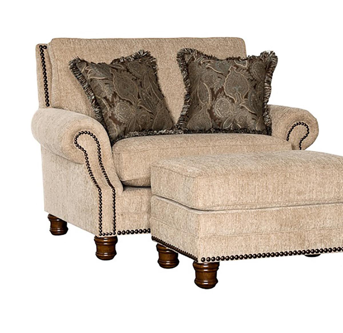 Chelsea Home Templeton Chair - Beige