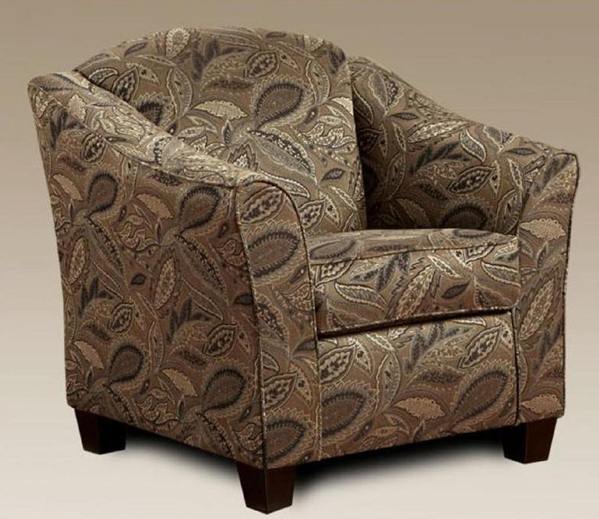 Chelsea Home Lilly Accent Chair - Dream Java
