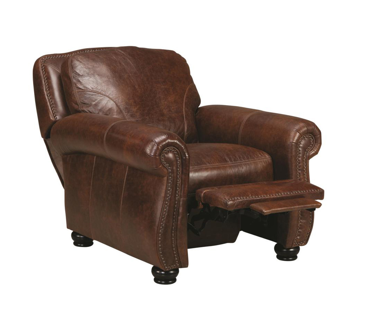 Chelsea Home Furniture San Angelo Push Back Recliner - Bolero Cohiba 62H044-90