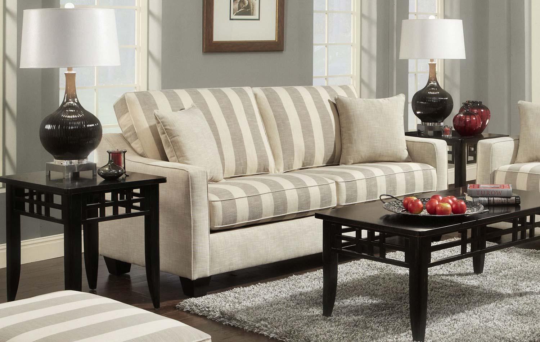 Chelsea Home Coe Sofa - Beige