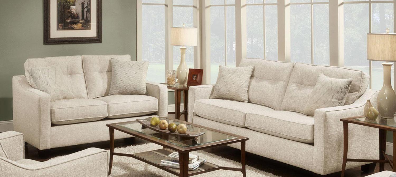 Chelsea Home Colby Sofa Set - Beige
