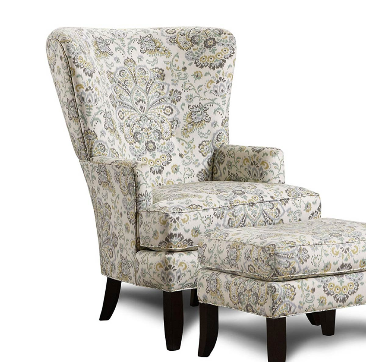 Chelsea Home Davin Accent Chair - Multicolor