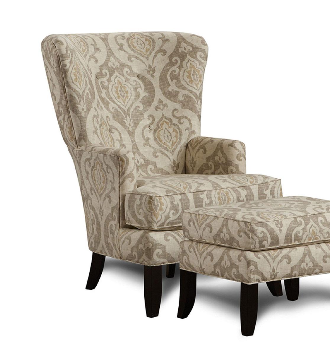 Chelsea Home Davin Accent Chair - Multicolor