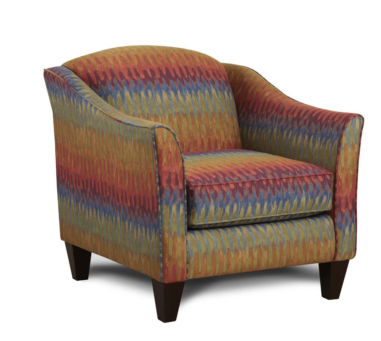 Chelsea Home Delancy Accent Chair - Multicolor