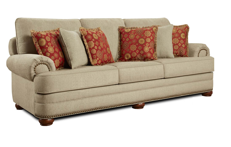 Chelsea Home Devon Sofa Set - Beige