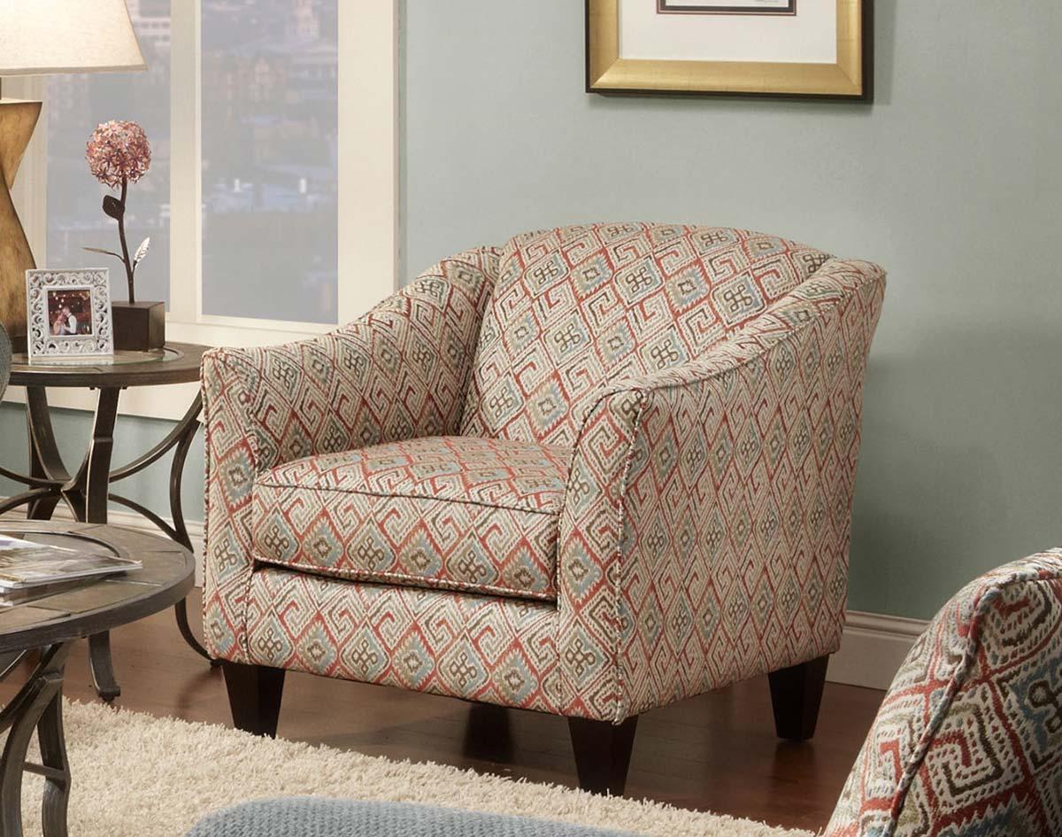 Chelsea Home Ellis Accent Chair - Multicolor