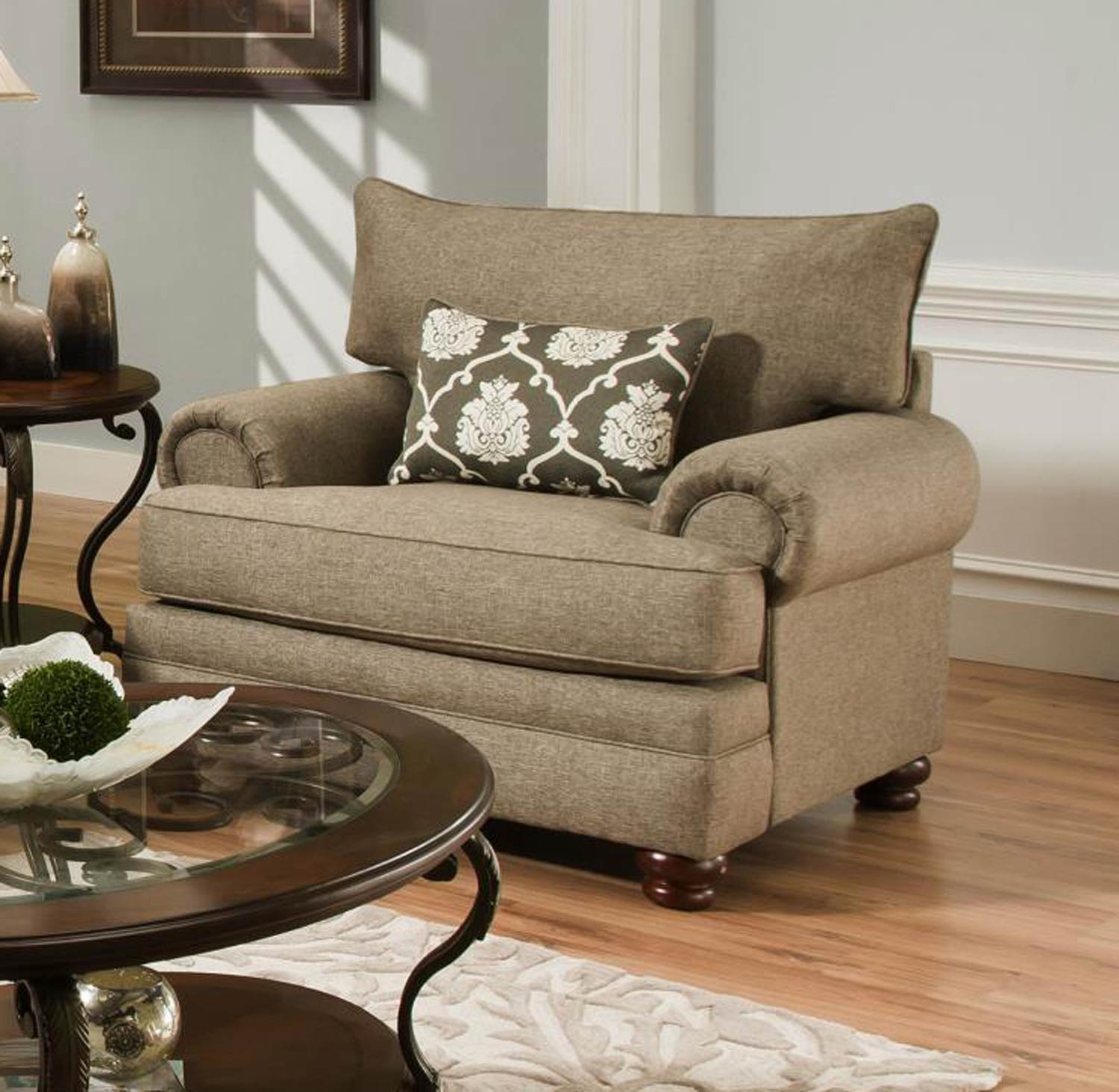 Chelsea Home Ria Accent Chair - Grande Badger