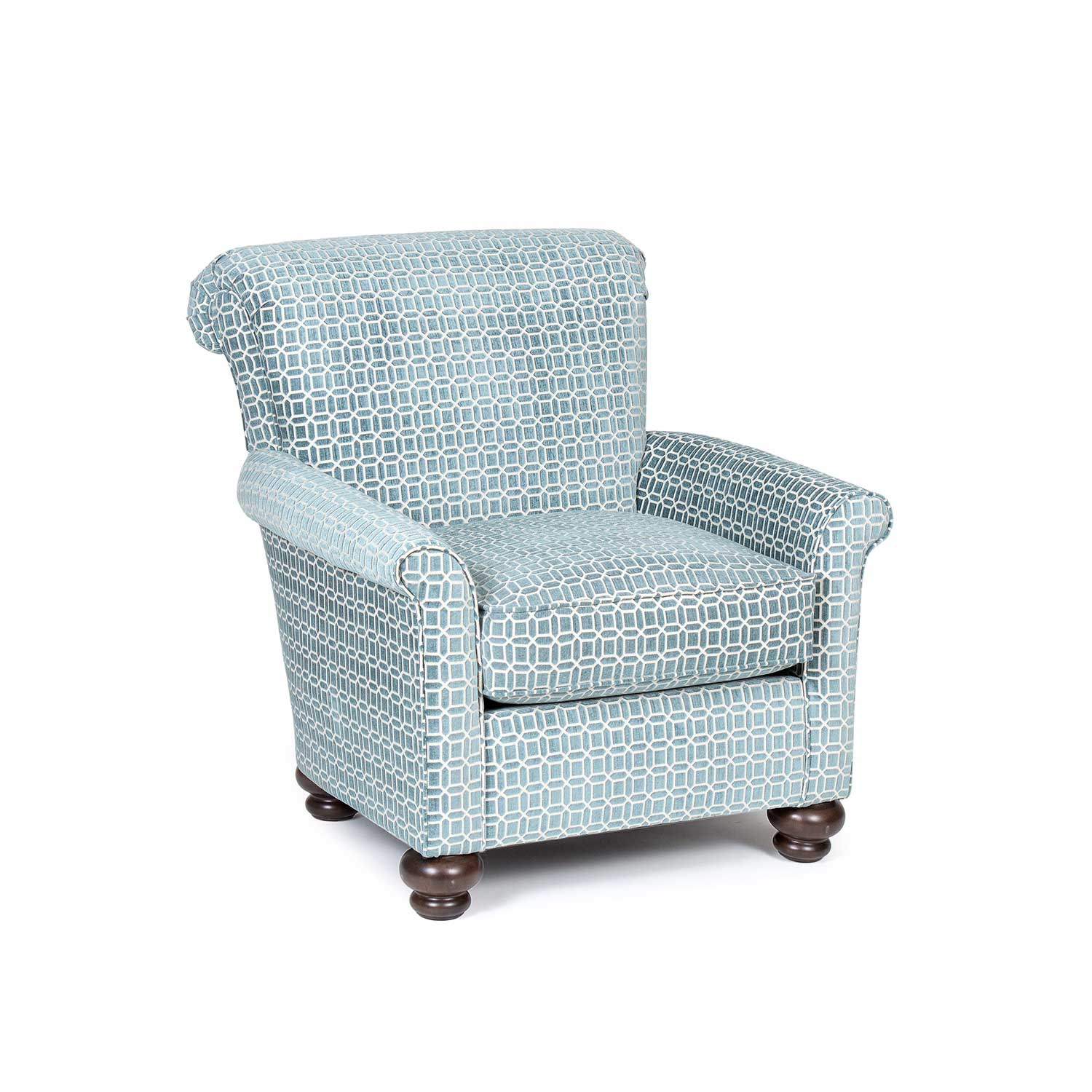 Chelsea Home Jana Accent Chair - Teal