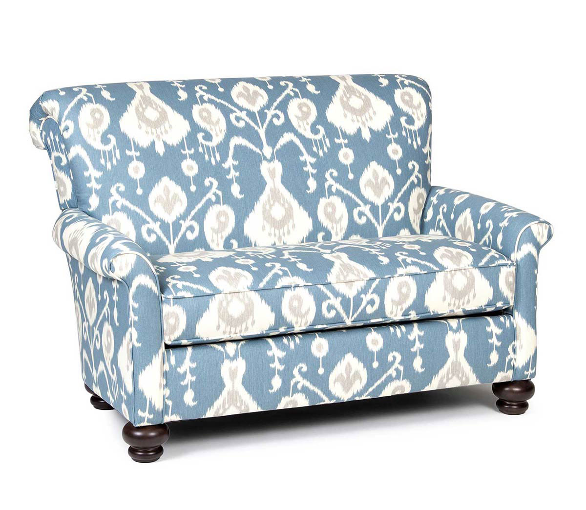 Chelsea Home Granville Chair - Blue/White