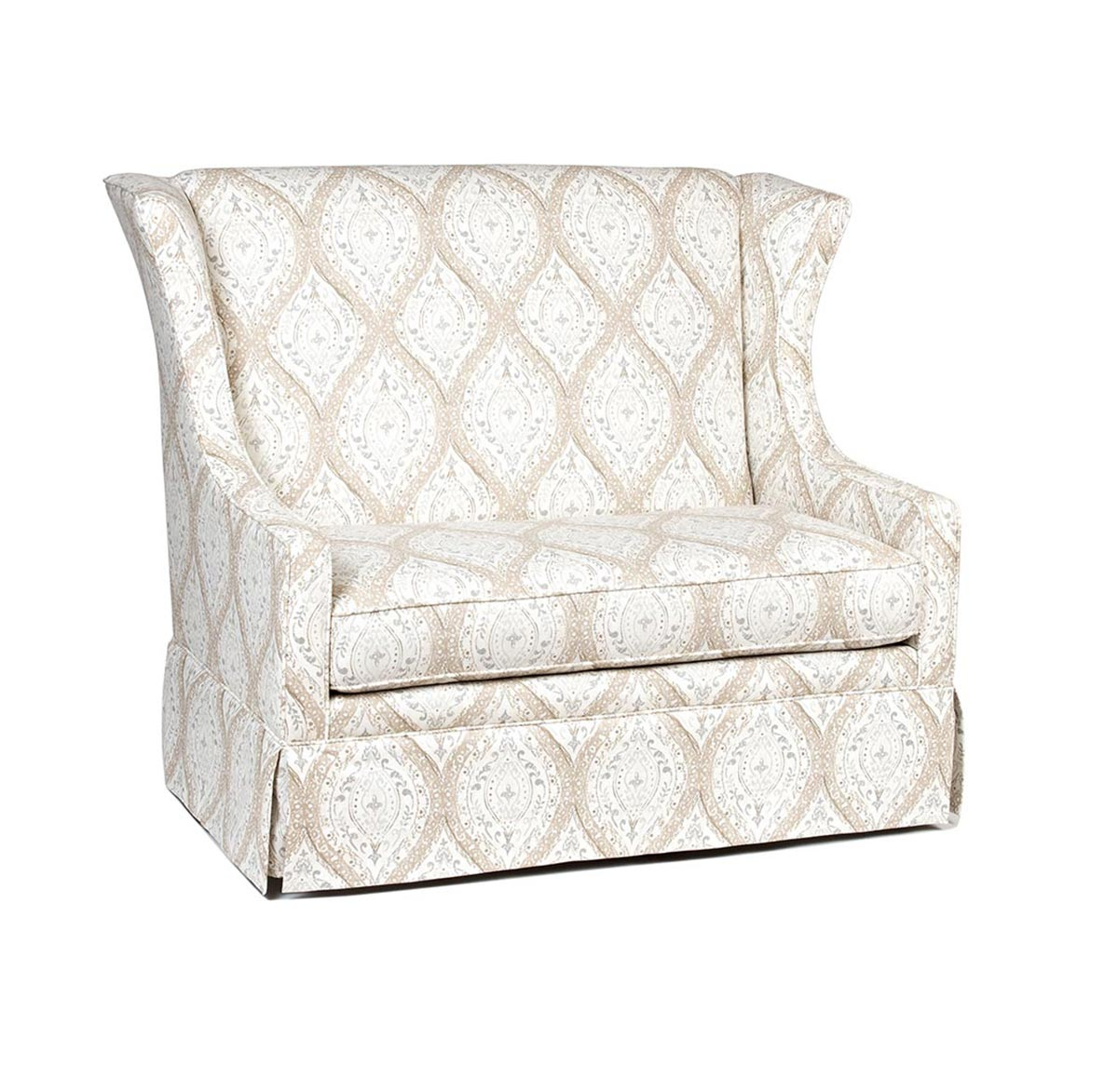 Chelsea Home Great Barrington Chair - White/Beige