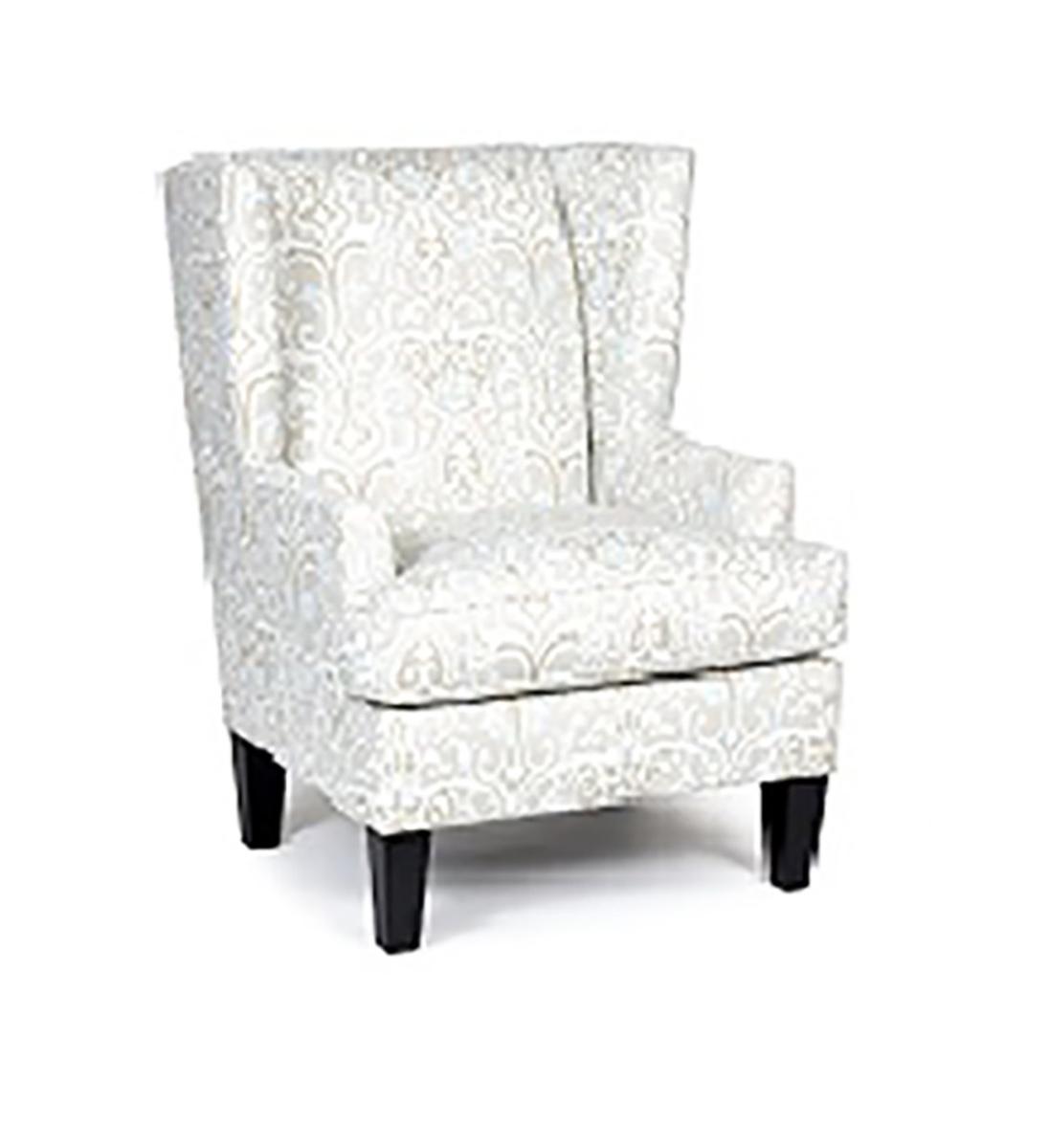 Chelsea Home Grovel Chair - White/Beige