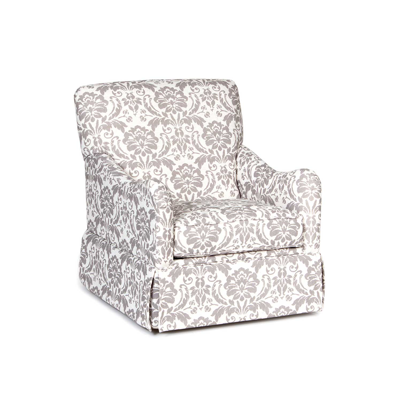 Chelsea Home Jamie Swivel Accent Chair - Linen