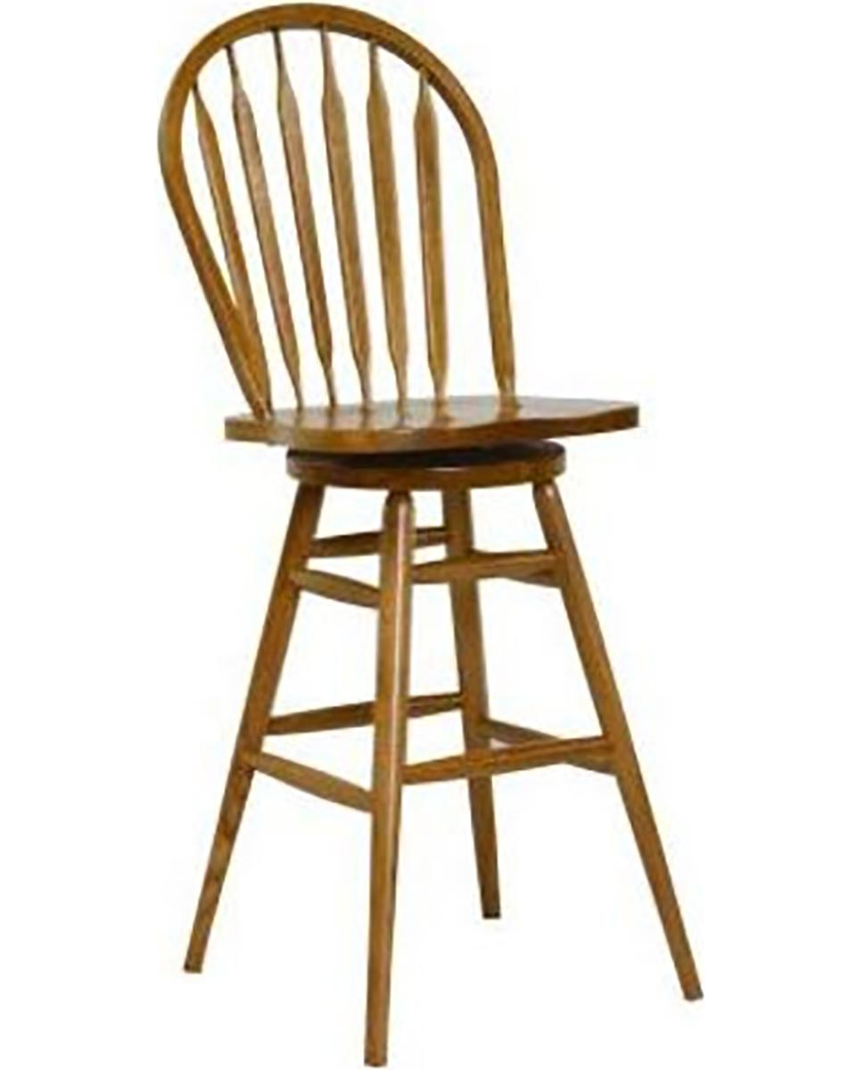 Chelsea Home Gentry 30-inch Barstool Chair - Harvest Oak