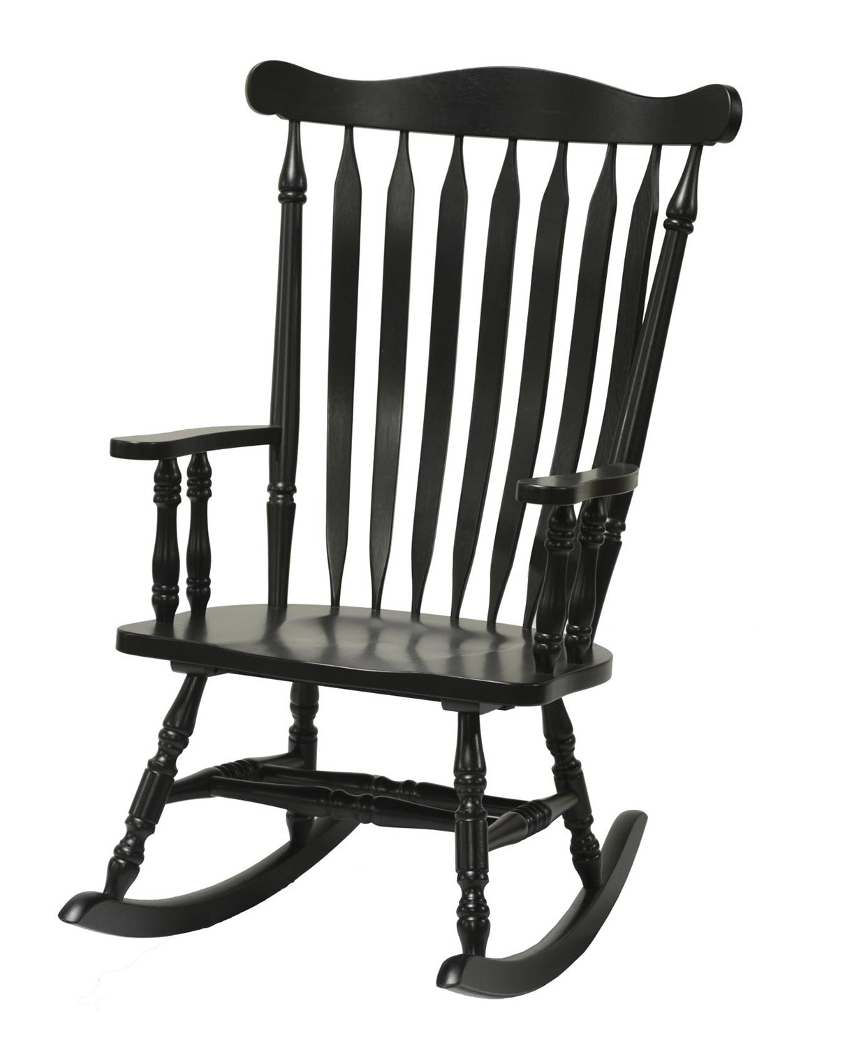 Chelsea Home Corkwood Rocker - Black