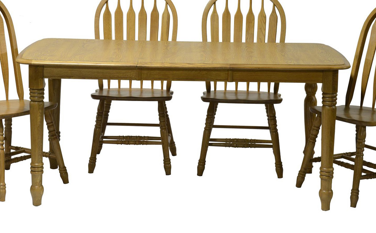 Chelsea Home Tracey Table - Harvest Oak