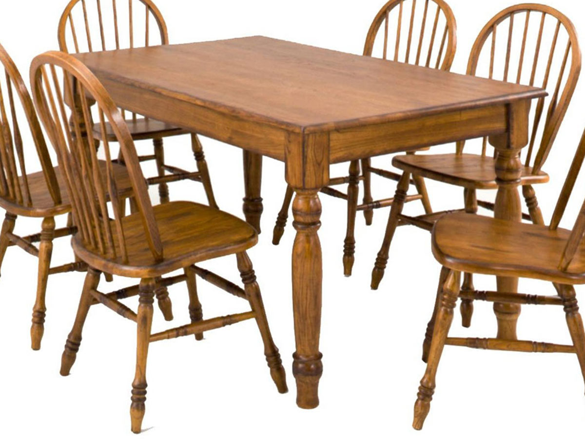 Chelsea Home Rosewood Table - Burnished Walnut