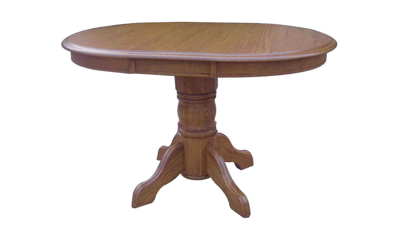 Chelsea Home Sandalwood Pedestal - Hervest Oak