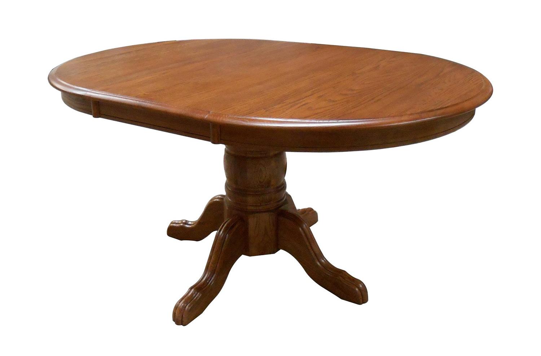Chelsea Home Softwood Pedestal - Medium Oak