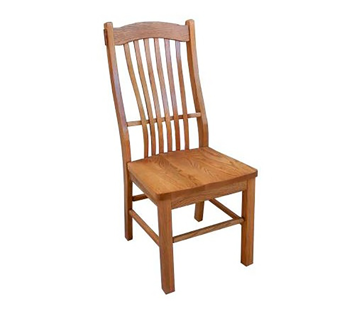 Chelsea Home Arrowwood Side Chair - Hervest Oak
