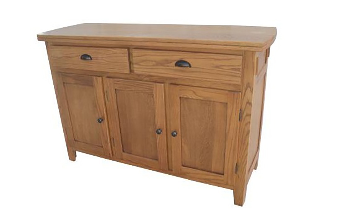 Chelsea Home Baywood Server - Hervest Oak