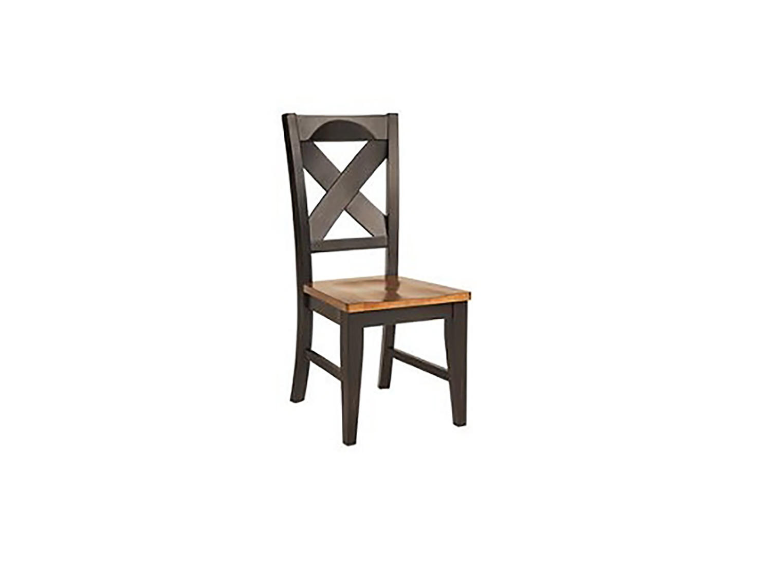 Chelsea Home Toby Side Chair - Harvest/Black