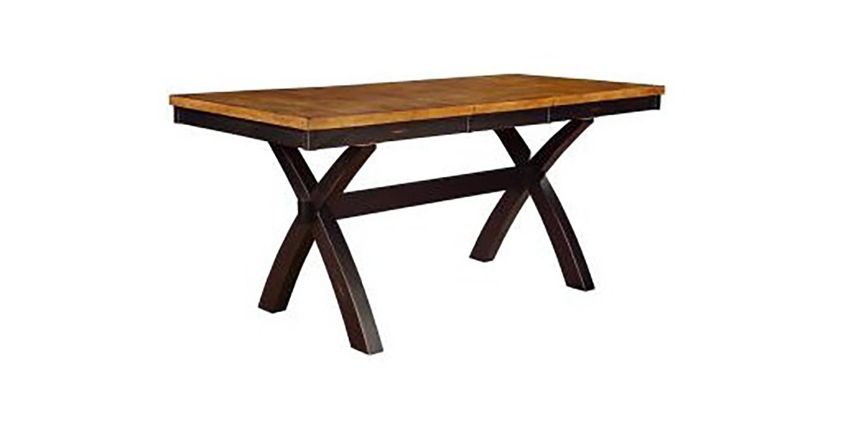 Chelsea Home Tyne Table - Harvest/Black