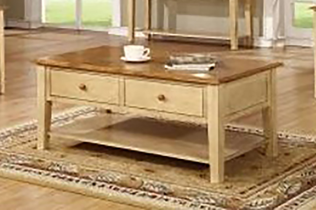Chelsea Home Valentine coffee Table - Two Tone